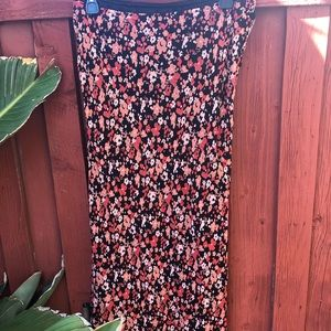 Floral maxi skirt size 12 by Style & Co